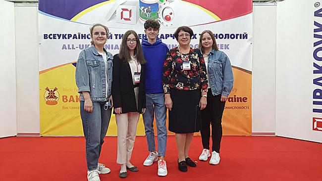 Викладачі і випускники ВСП ЛФКХПП НУХТ<br/>на конференціях у Києві