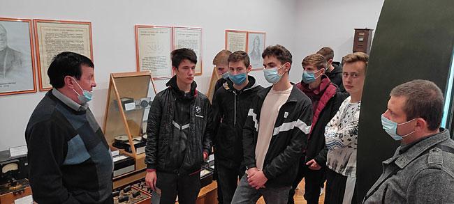 Студенти коледжу відвідали Народний музей метрології та вимірювальної техніки