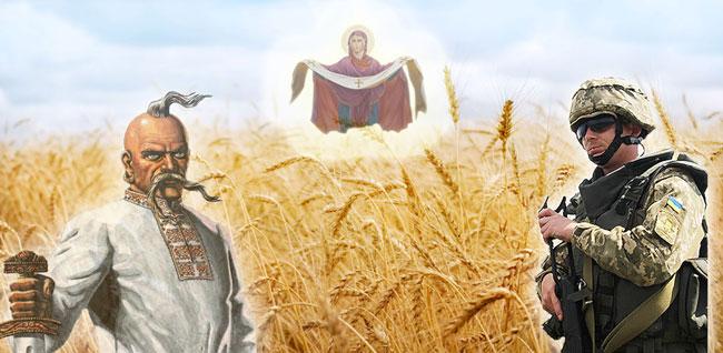 Привітання з святами: <br/>Днем захисника України, <br>Днем українського козацтва та <br>Покровою Пресвятої Богородиці